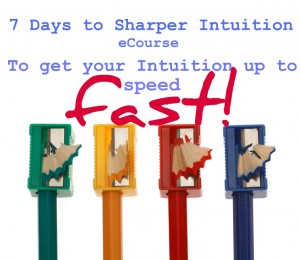 7 days to sharper intuition eCourse cover image
