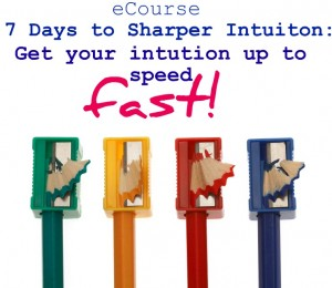 7 days to sharper intuition2 ecourse cover