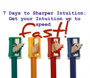 7 days to sharper intuition3 ecourse cover