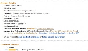 Navigating by Intuition Top 100 paid books on Amazon