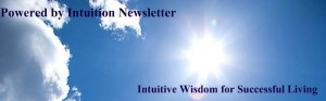 Powered by Intuition Newletter header