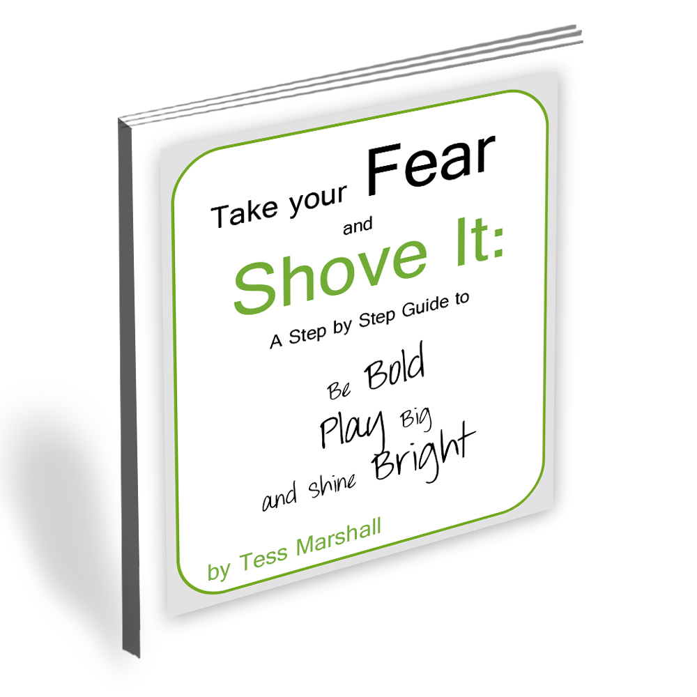Take this fear and shove it course, Tess Marshall, The Bold Life