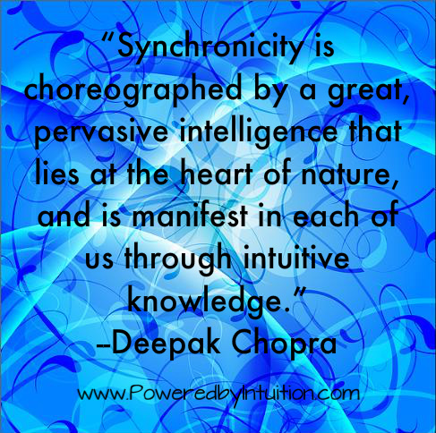 Deepak Chopra quote on Intuition