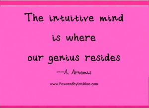 The genius of the intuitive mind