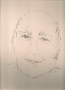 Spirit drawing by Randi Silber