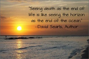 Seeing death as the end of life quote
