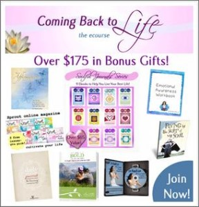 Coming back to life ecourse