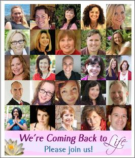 Coming back to life ecourse contributors