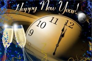 Happy New year public domain