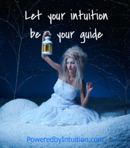 Let your intuition be your guide through challenges