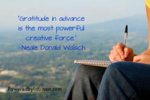 Creativity, Creative flow, Writer's block, Gratitude