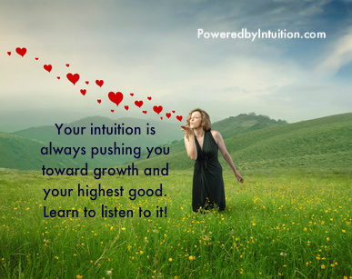 Intuition always pushing you toward growth banner