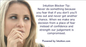 #1 Intuition Blocking Mistake Banner