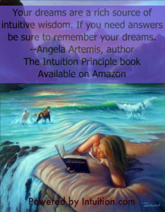 Dreams are a rich source of intuitive Guidance