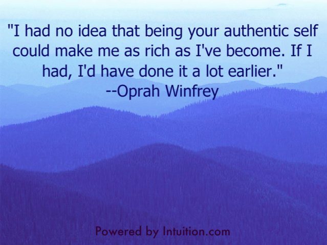 Quotes, Self Empowerment, Empowered, Authenticity, Authentic Self, Intuition, Angela Artemis, Powered by Intuition