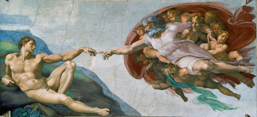 Creation of Adam by Michael Angelo