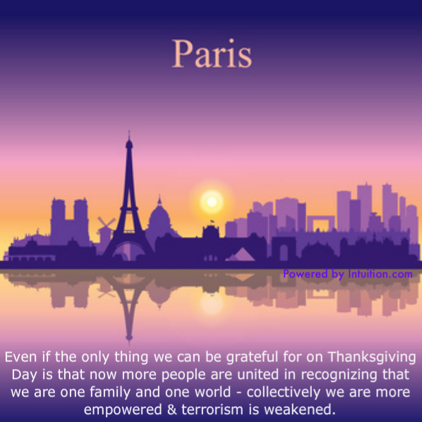 Gratitude in Light of the Paris Attacks