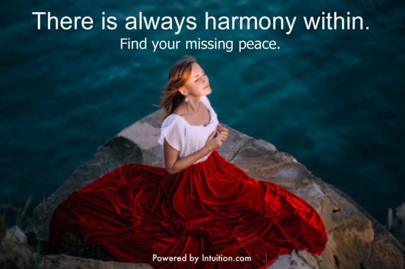 There is Always Harmony Within