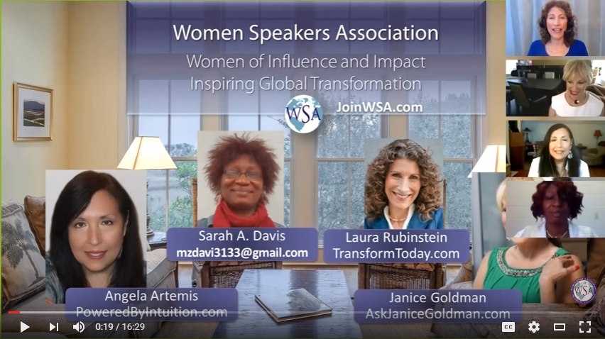 The Women Speakers Association Rocks!